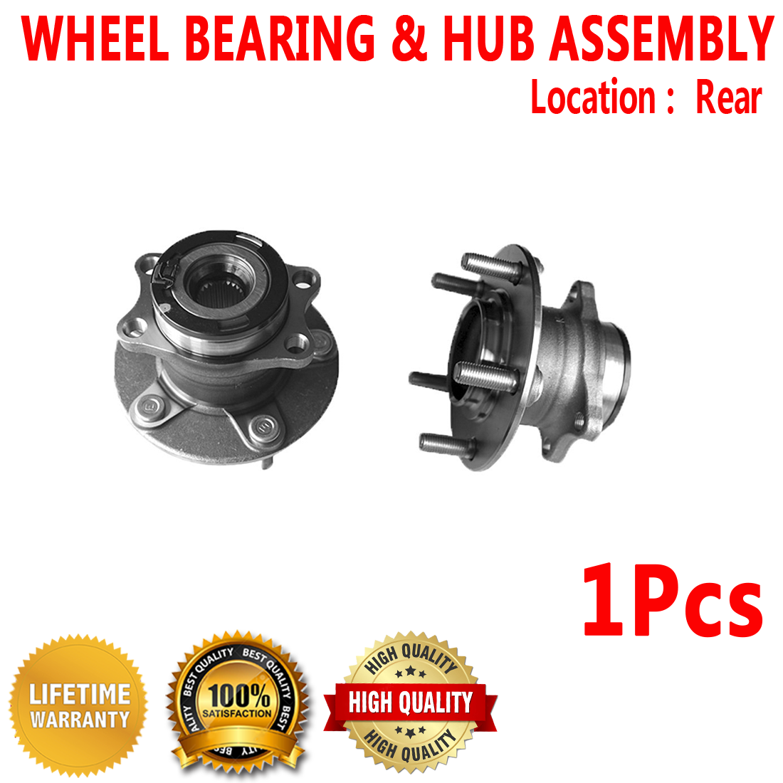 2007 fits Dodge Caliber Front Wheel Bearing One Bearing Included with Two Years Warranty Note: AWD, FWD