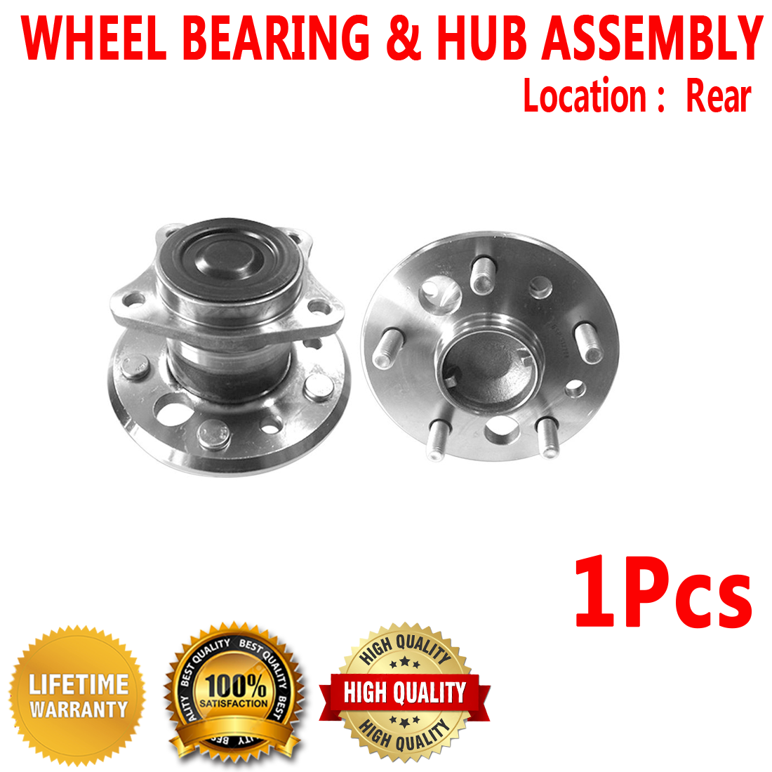 Note: FWD 2007 fits Toyota Camry Rear Left Wheel Bearing and Hub Assembly One Bearing Included with Two Years Warranty