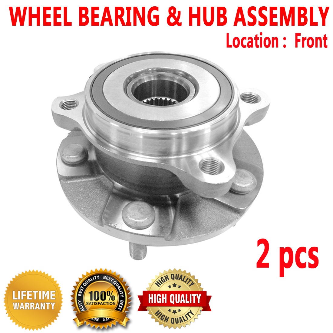 VW Jetta 2006-2011 Front Wheel ABS Hub Bearing