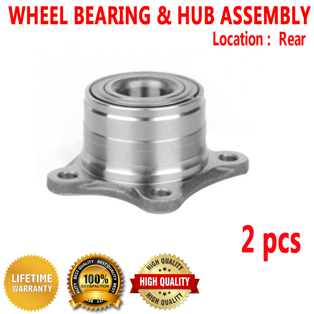 1998 fits Toyota Camry Front Wheel Bearing One Bearing Included with Two Years Warranty Note: 2.2 Liter L4, 3.0 Liter V6 FWD