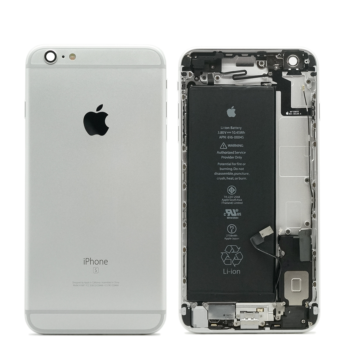 mint refurbished original apple iphone 6s plus housing. Black Bedroom Furniture Sets. Home Design Ideas