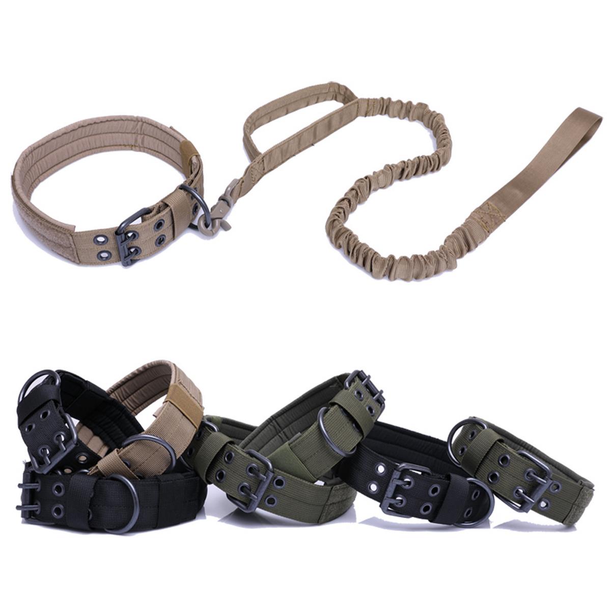 Tactical-Scorpion-Gear-Dog-Collar-Canine-K9-Training-Walking-Military-Nylon thumbnail 16