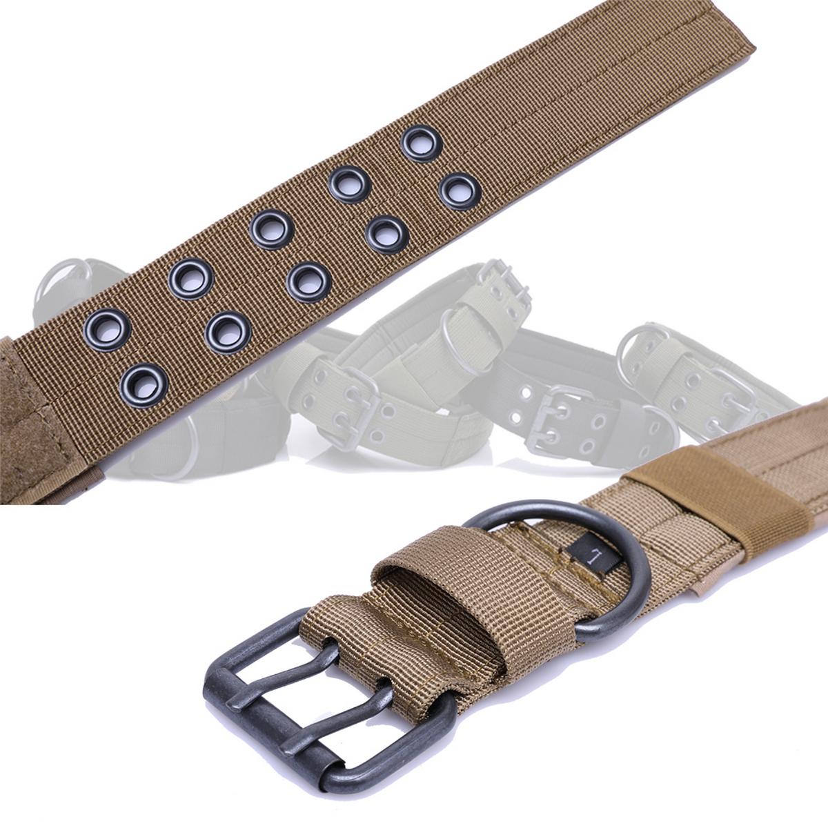 Tactical-Scorpion-Gear-Dog-Collar-Canine-K9-Training-Walking-Military-Nylon thumbnail 11