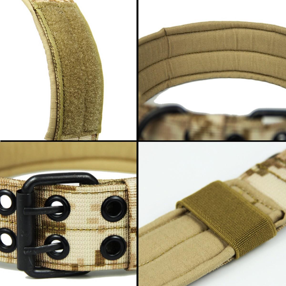 Tactical-Scorpion-Gear-Dog-Collar-Canine-K9-Training-Walking-Military-Nylon thumbnail 13