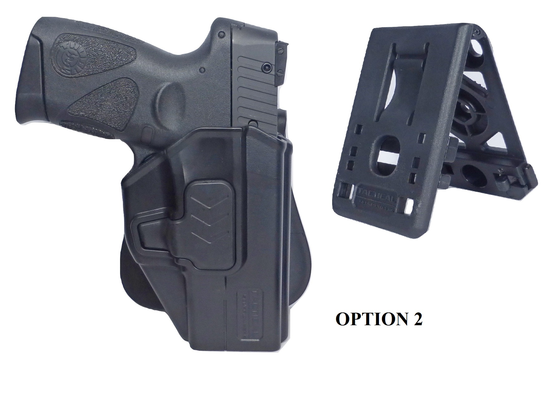 thumbnail 18 - Tactical-Scorpion-Level-II-Paddle-Holster-Fits-Sig-Sauer-P320-M18-Carry-Compact