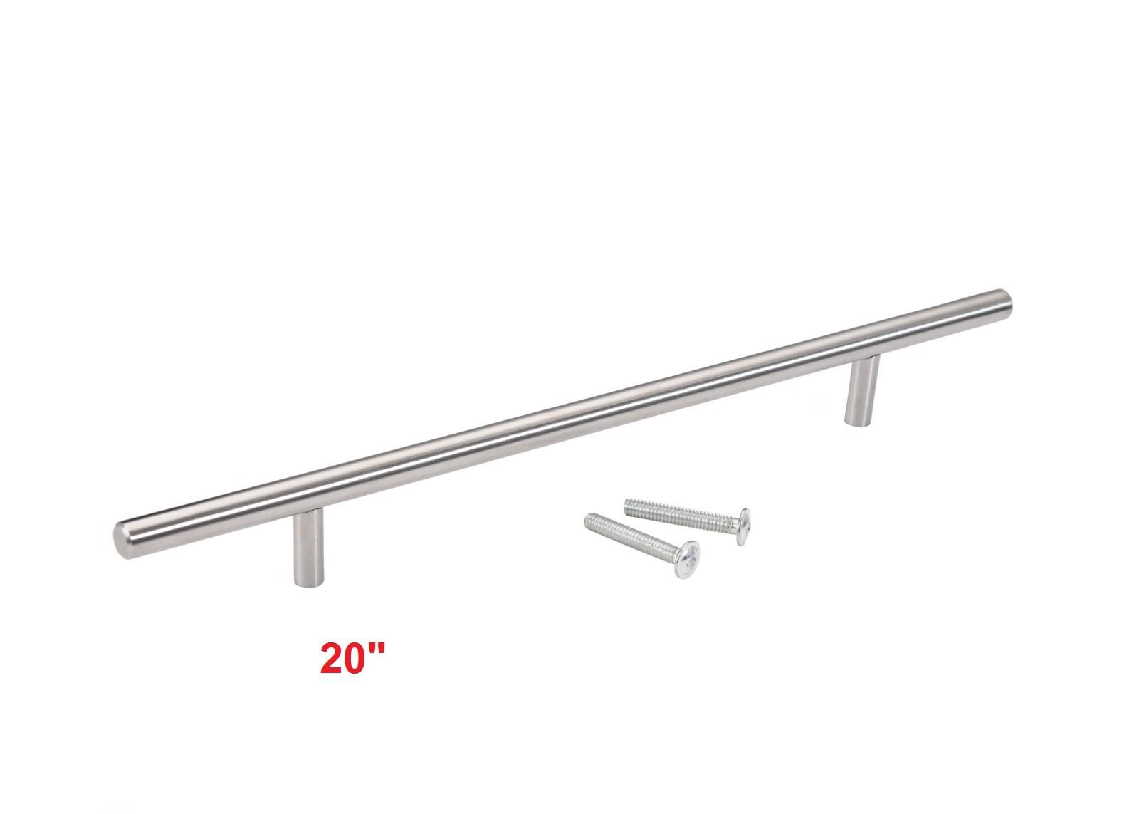 Stainless Steel T Bar Kitchen Cabinet Door Hardware Pulls Handles ...