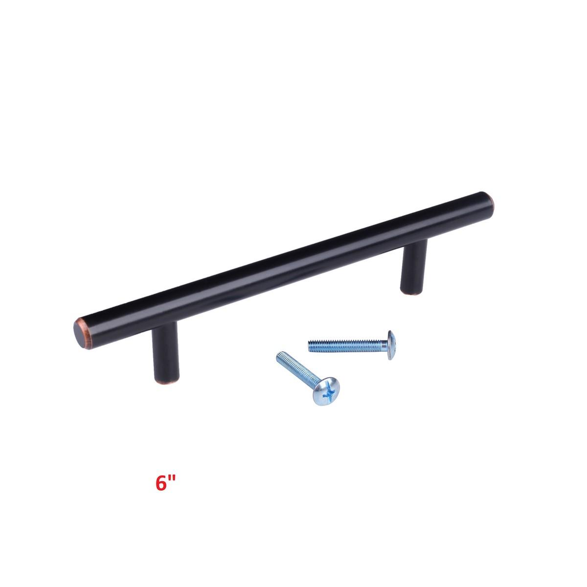 Oil-Rubbed-Bronze-T-Bar-Kitchen-Cabinet-Door-Hardware-Pulls-Handles-Knobs-Knob