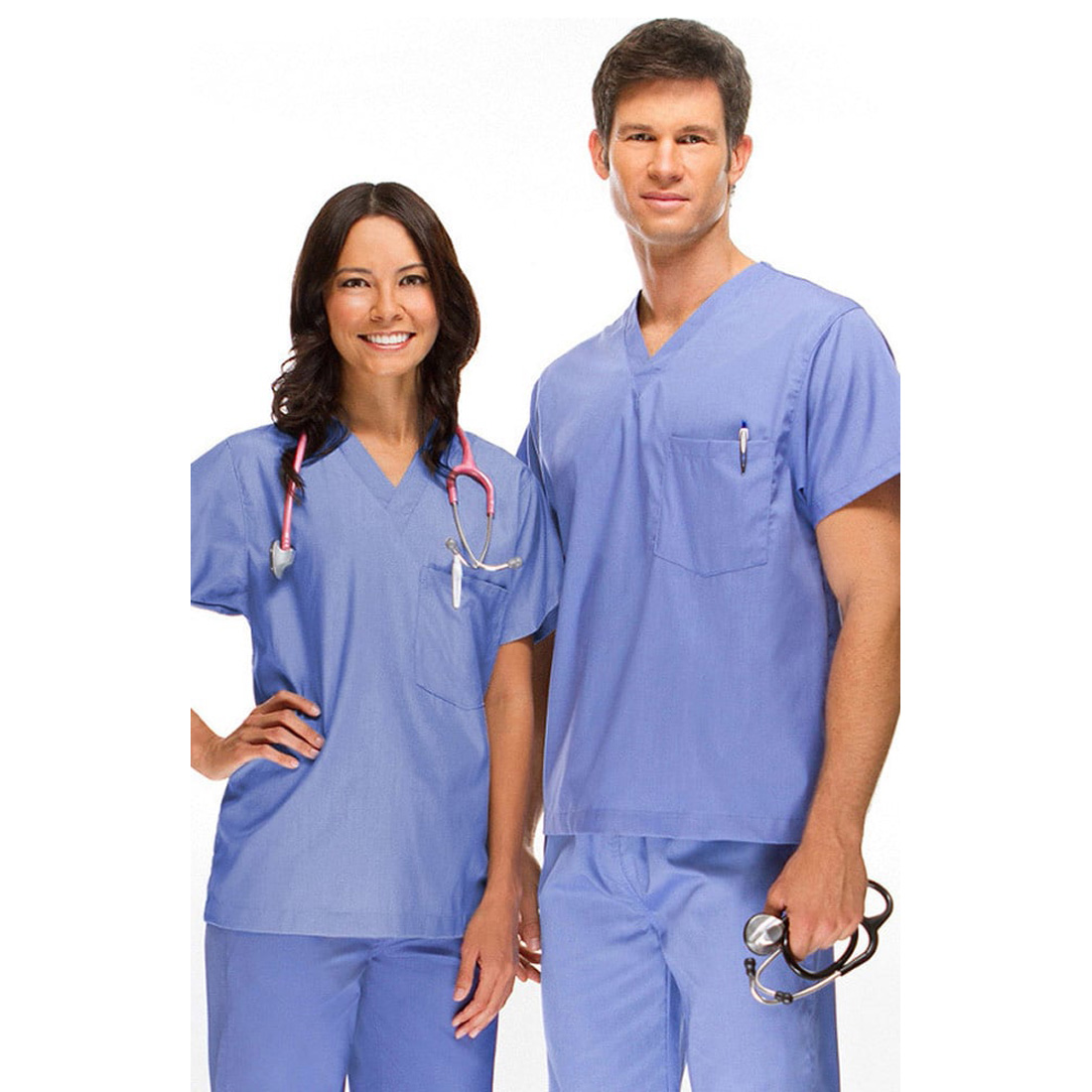 07206b73fe6 DSF Medical Uniform Unisex Reversible Scrub Set | eBay