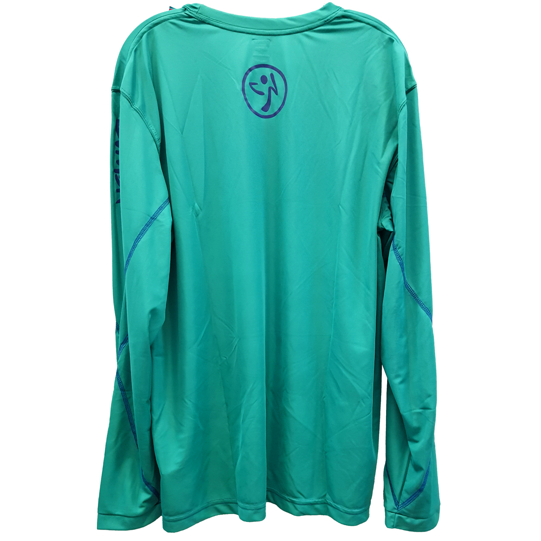 Zumba-Fitness-Men-039-s-Logo-Long-Sleeve-Shirt thumbnail 8