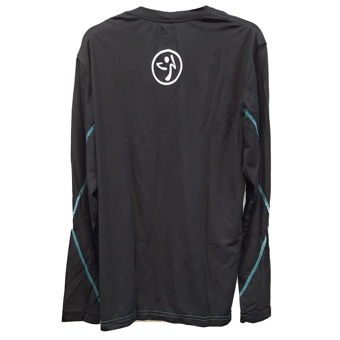 Zumba-Fitness-Men-039-s-Logo-Long-Sleeve-Shirt thumbnail 10