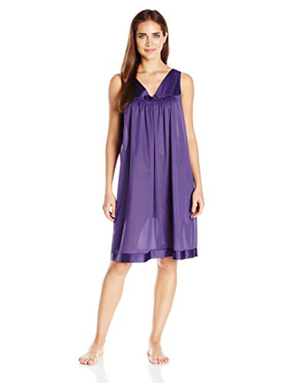 Vanity Fair Women\'s Coloratura Sleepwear Short Gown 30107 Large ...