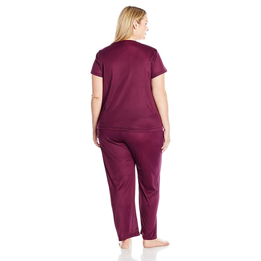 Vanity-Fair-Women-039-s-Plus-Size-Coloratura-Sleepwear-Pajama-Set-90807 thumbnail 3