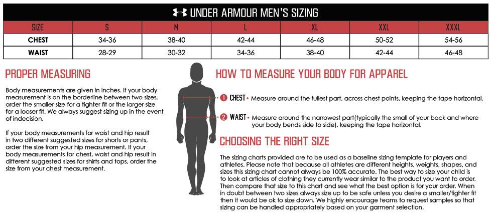 small jersey size chart