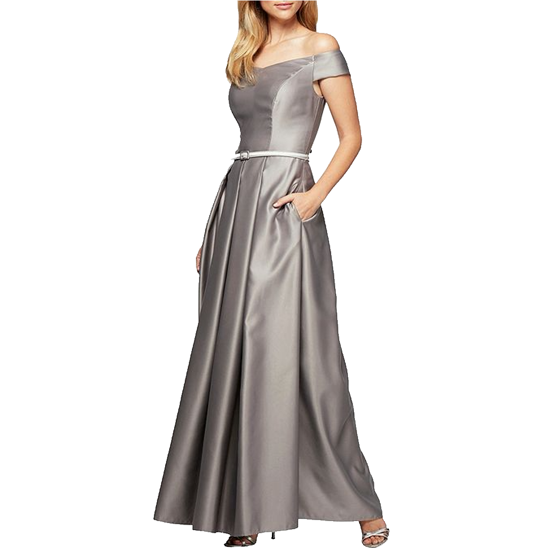 alex evenings silber kleid coupon for 91cfc b2b96