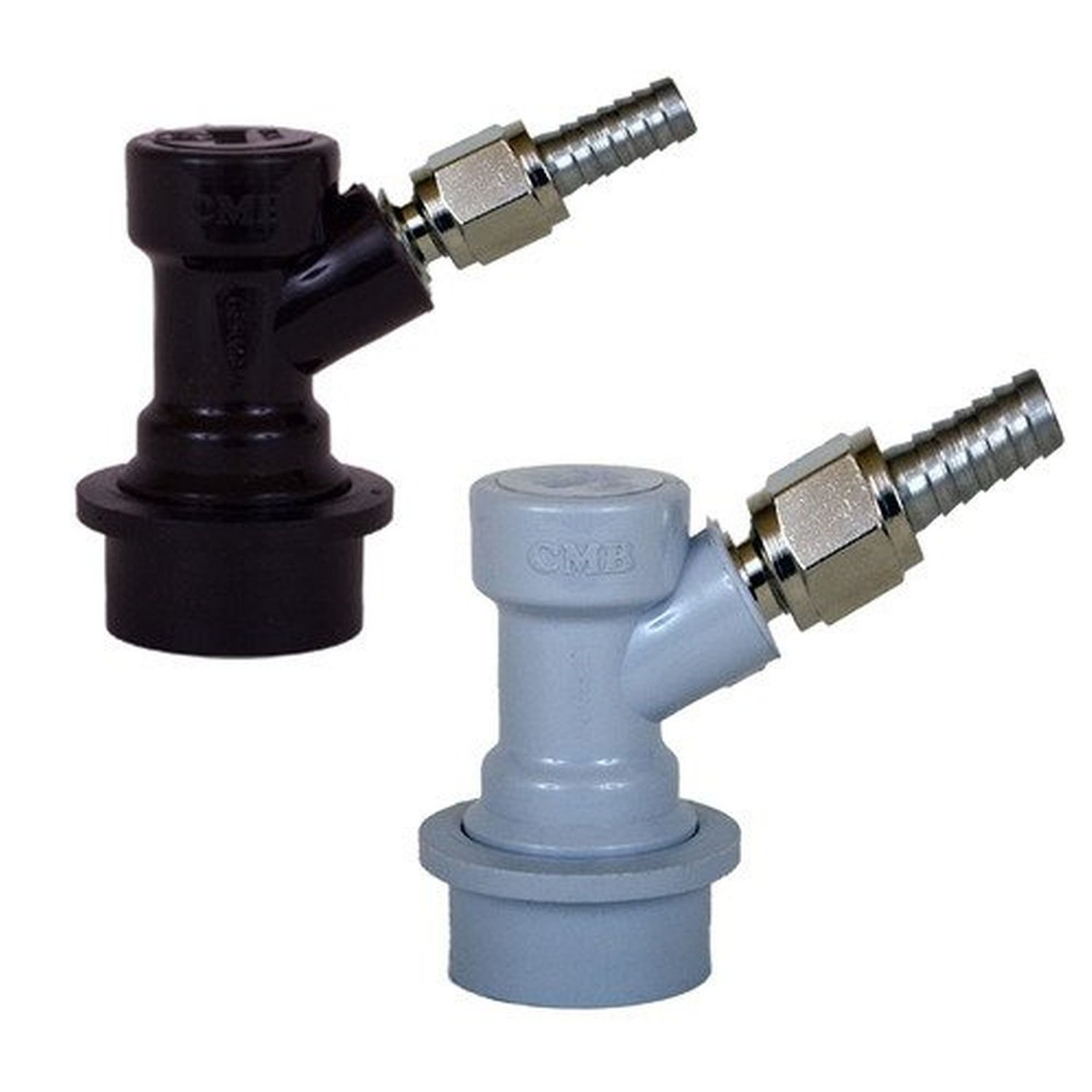 1//4 BARB 5//16 BARB for Ball Lock Pin Lock Home Brew keg Fitting Stainless Steel 304 Barded Swivel Nut Set of 2