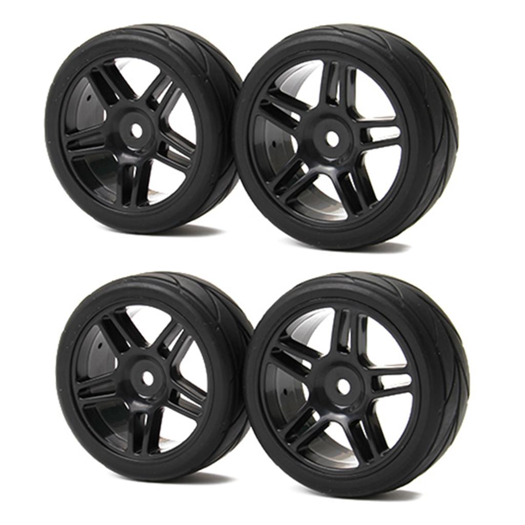 12mm Hex RC Car Wheels 3mm Offset 1/10 Flat RC Racing Car