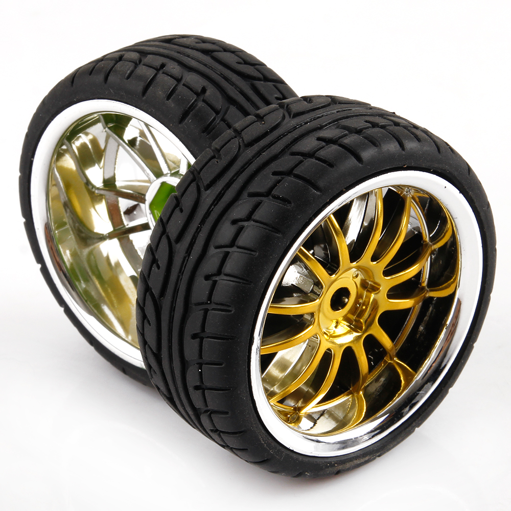 On Road Car RC Car Tires Rims 1 10 Scale 12 Spoke For HSP
