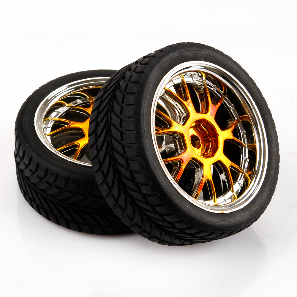 On Road Car RC Tires & Wheels 1/10 Scale For HSP HPI Y