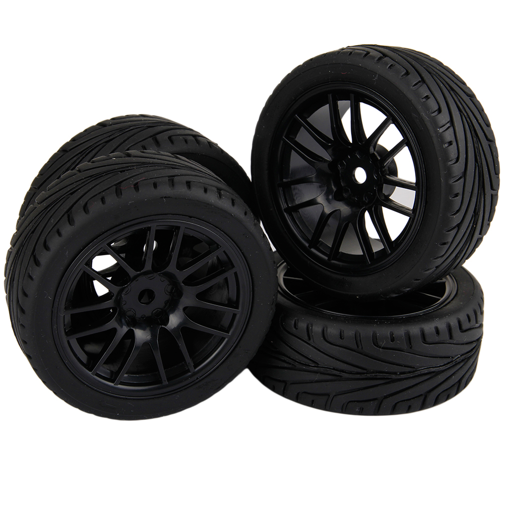 4pcs RC 1/10 Wheels Rims HPI On Road 1 10 RC On Road Tires