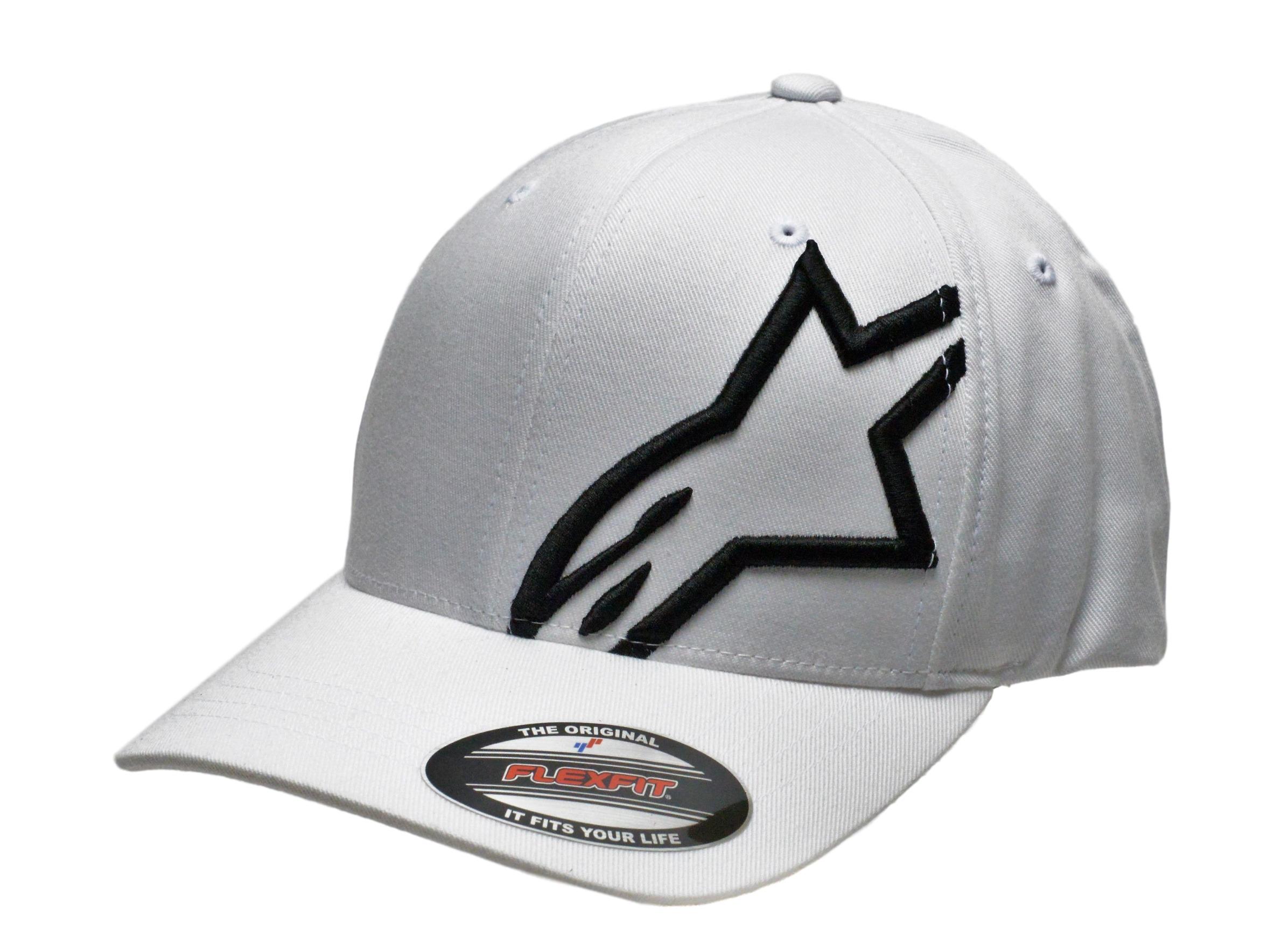Alpinestars Corp Shift 2 Flexfit Hat White Black