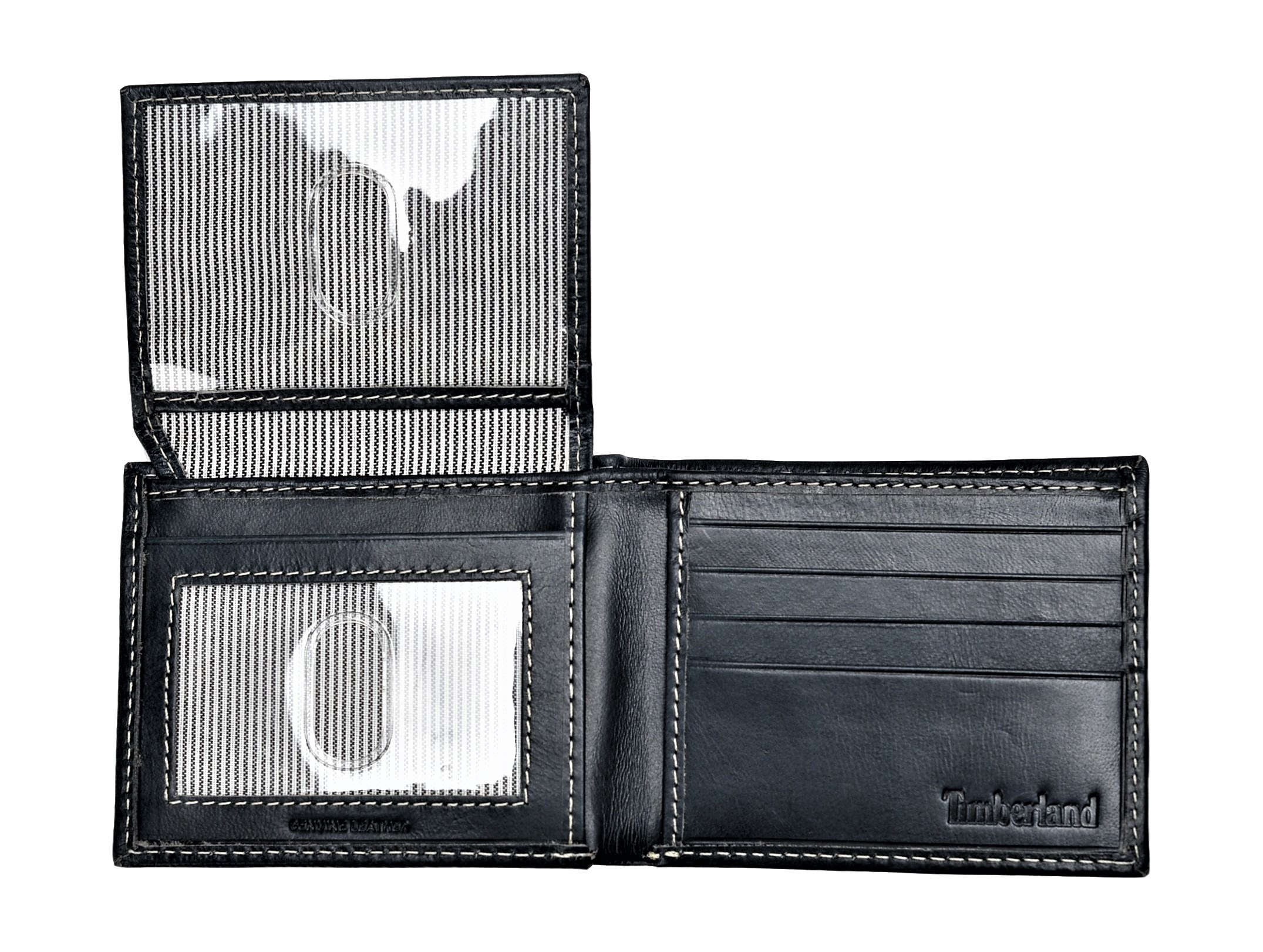 Timberland-Men-039-s-Genuine-Smooth-Leather-Cloudy-Passcase-Wallet thumbnail 22