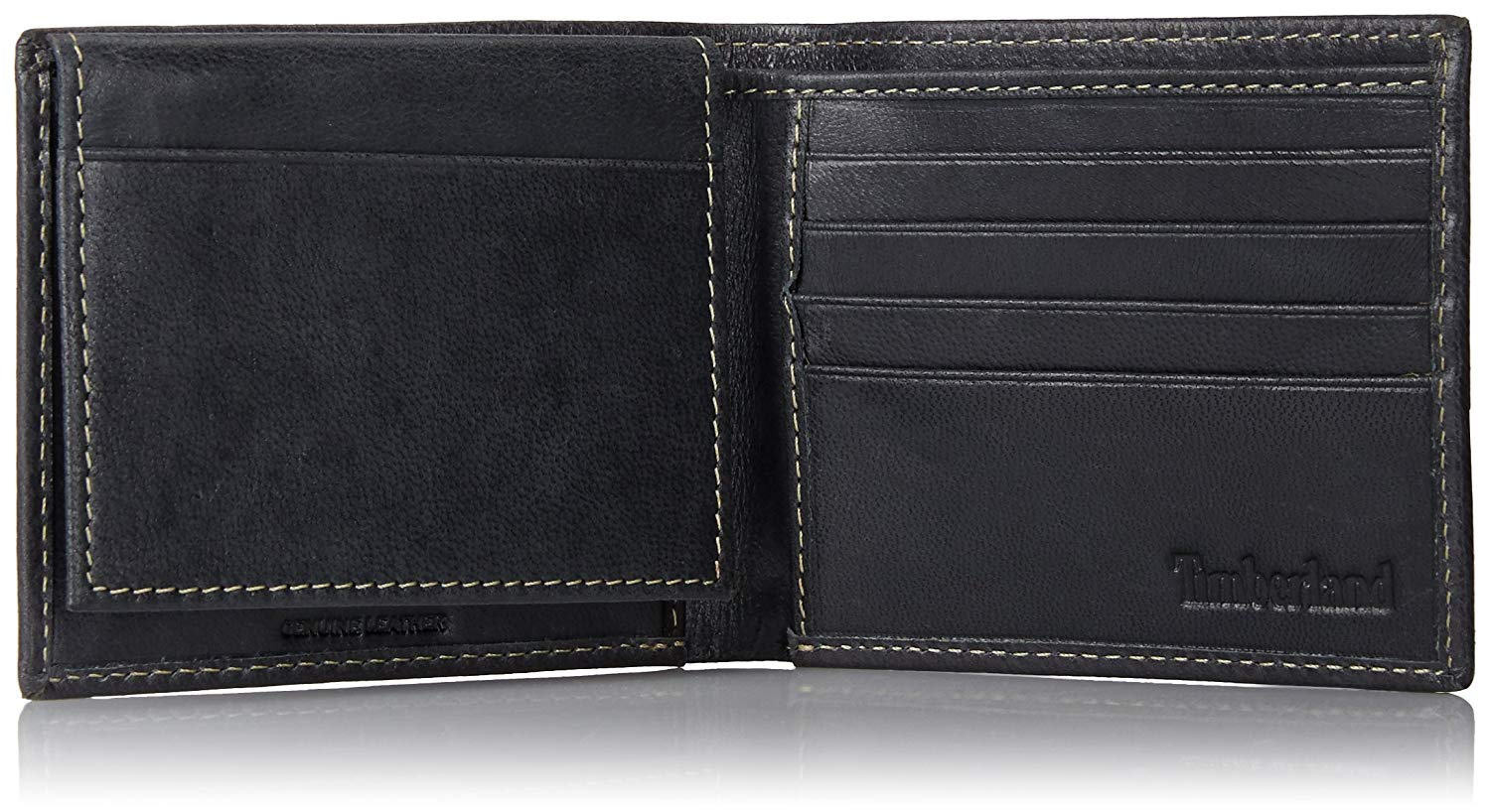 Timberland-Men-039-s-Genuine-Smooth-Leather-Cloudy-Passcase-Wallet thumbnail 9