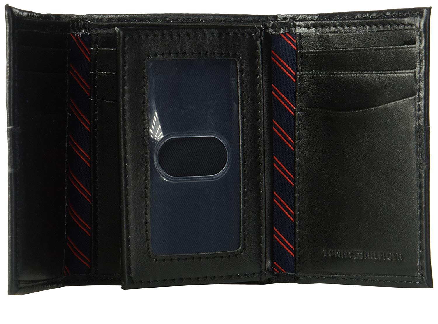 Tommy-Hilfiger-Men-039-s-RFID-Blocking-Leather-Ranger-Extra-Capacity-Trifold-Wallet thumbnail 9
