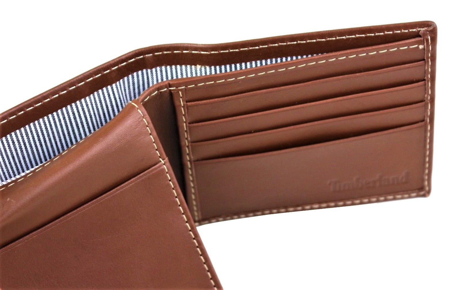 Timberland-Men-039-s-Genuine-Leather-New-Hunter-Passcase-Wallet