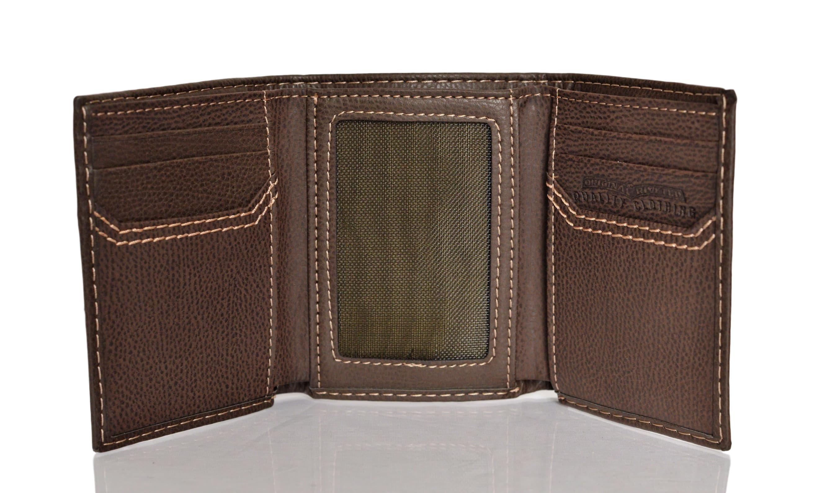 d092e3671655 Levi's Men's Trifold Wallet With Interior Zipper | Stanford Center ...