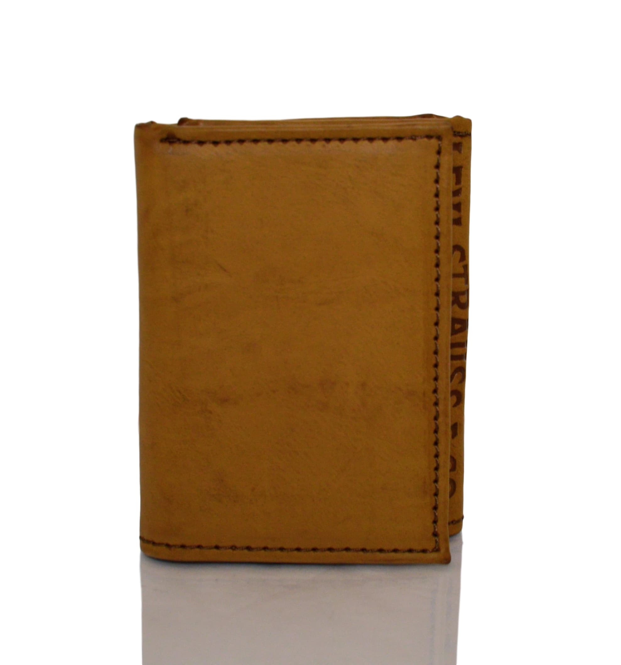 Levi-039-s-Two-Horse-Logo-Men-039-s-Trifold-Leather-Wallet thumbnail 10