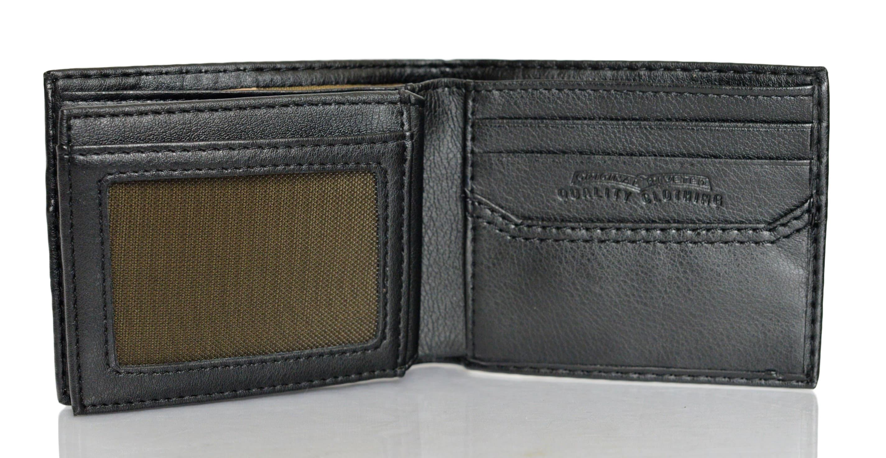 Levi-039-s-X-Capacity-Slim-Men-039-s-Bifold-Leather-Wallet thumbnail 6