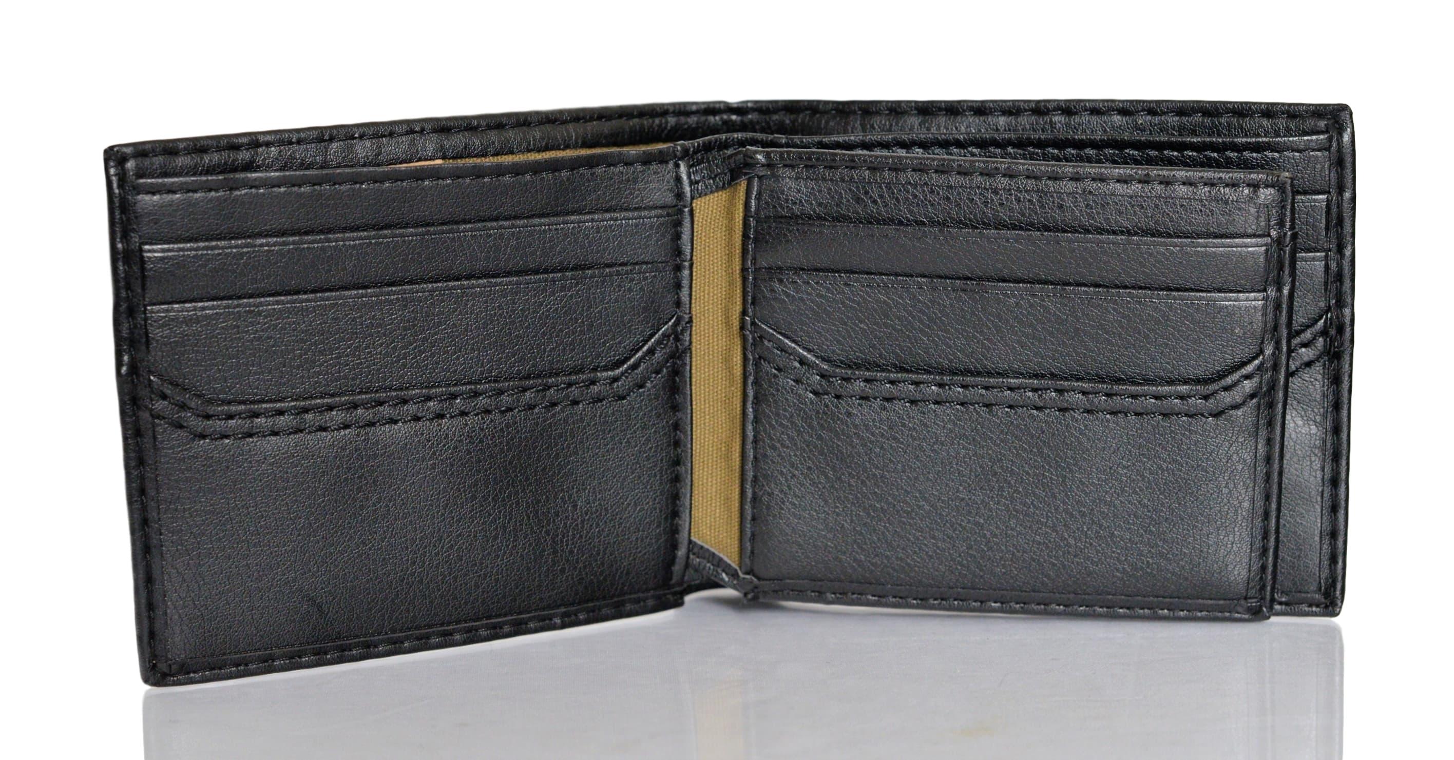 Levi-039-s-X-Capacity-Slim-Men-039-s-Bifold-Leather-Wallet thumbnail 7