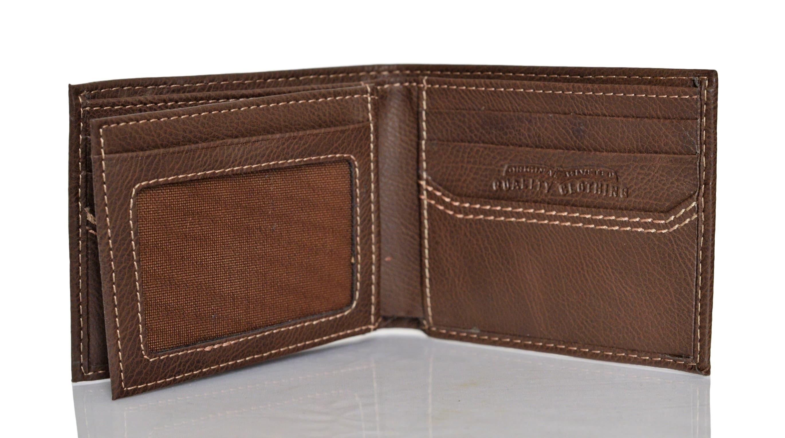 Levi-039-s-X-Capacity-Slim-Men-039-s-Bifold-Leather-Wallet thumbnail 12