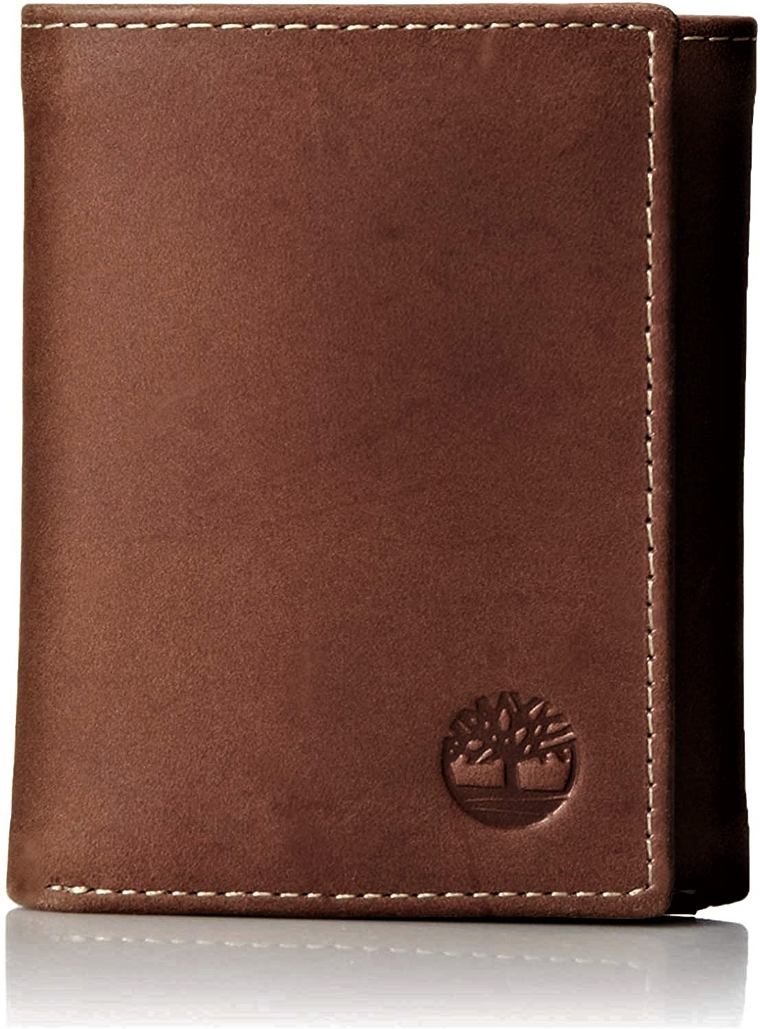Timberland Mens Hunter Trifold Leather Wallet