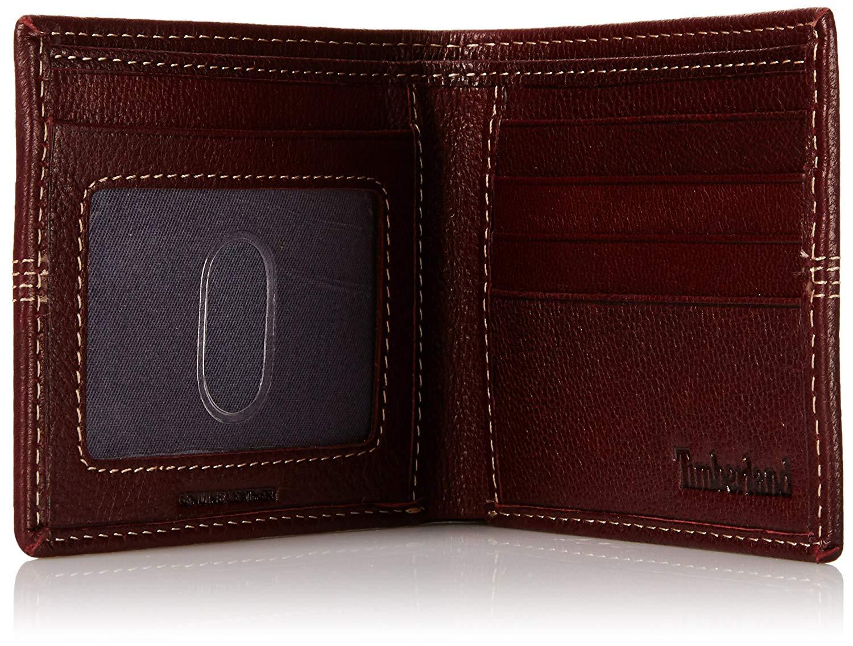 Timberland-Men-039-s-Genuine-Leather-Sportz-Quad-Bifold-Wallet thumbnail 15