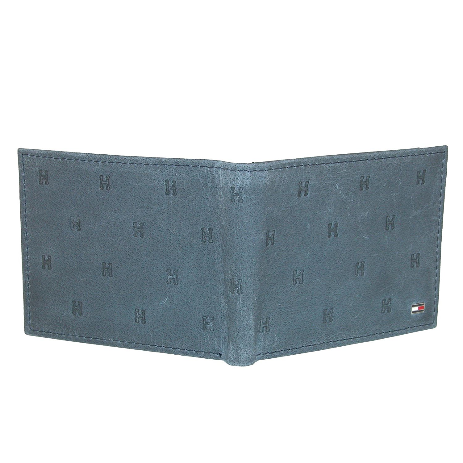 Tommy-Hilfiger-Men-039-s-Leather-Vaughn-Embossed-Bifold-Wallet thumbnail 9