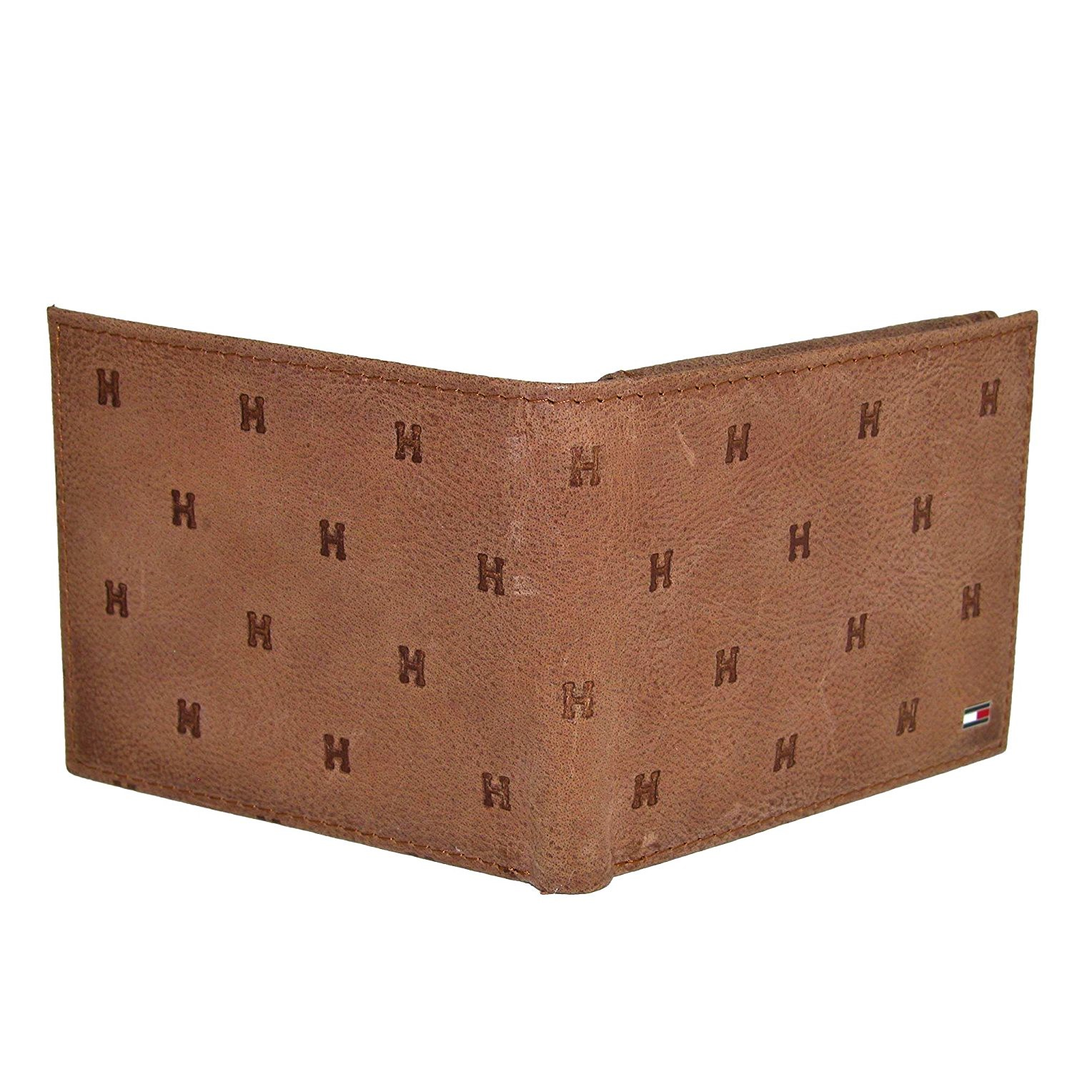 Tommy-Hilfiger-Men-039-s-Leather-Vaughn-Embossed-Bifold-Wallet thumbnail 15