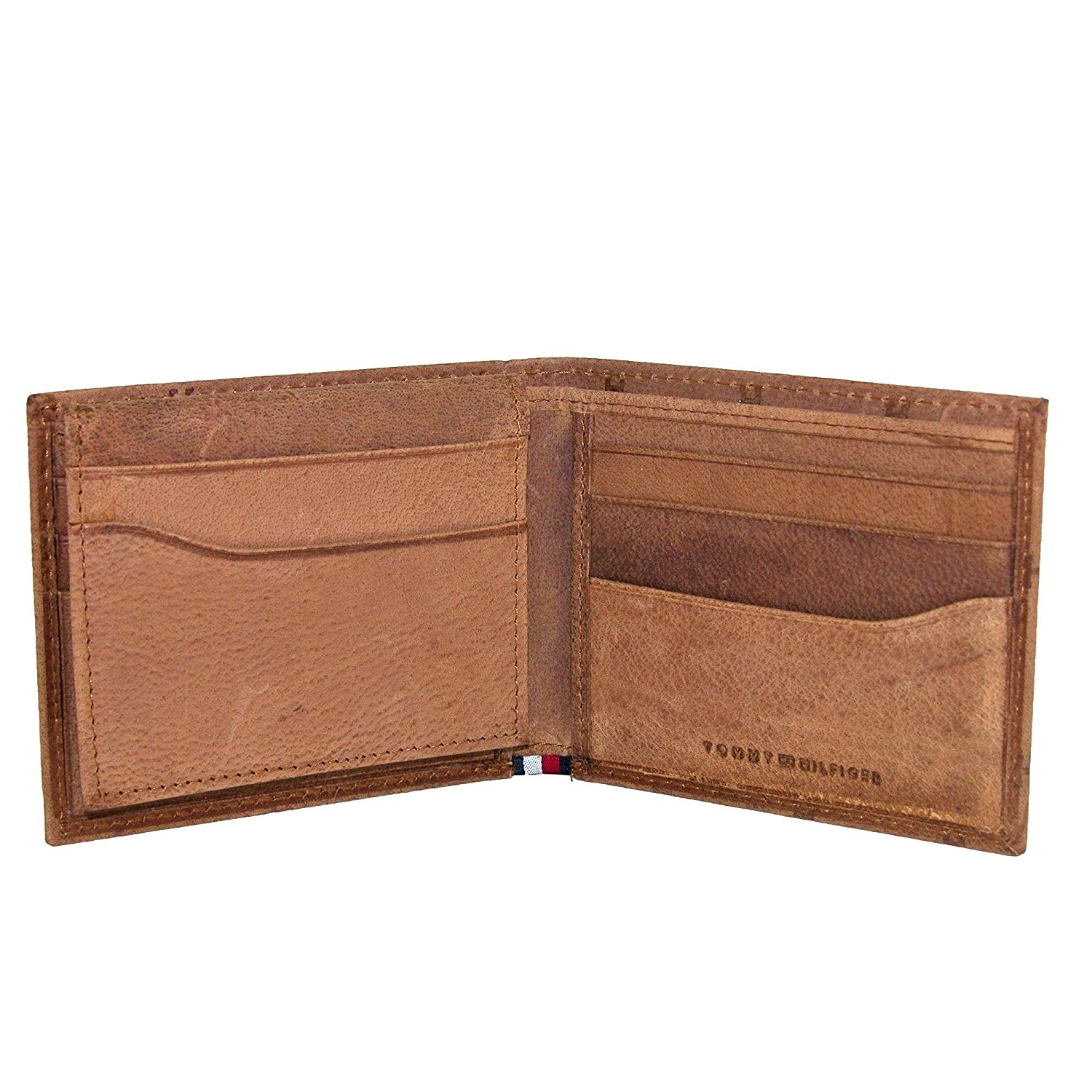 Tommy-Hilfiger-Men-039-s-Leather-Vaughn-Embossed-Bifold-Wallet thumbnail 11