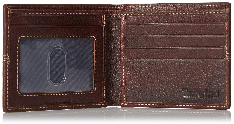 Timberland-Men-039-s-Genuine-Leather-Sportz-Quad-Bifold-Wallet thumbnail 12