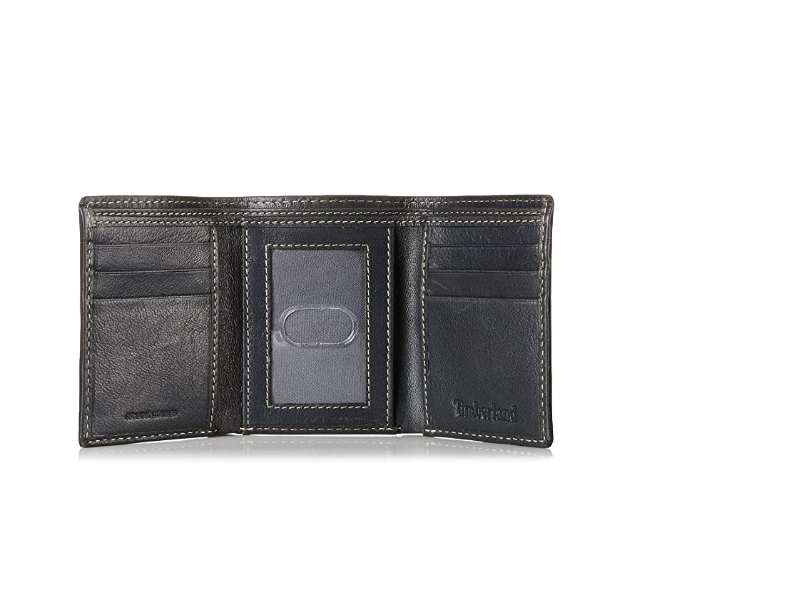 Timberland-Men-039-s-Cloudy-Trifold-Leather-Wallet thumbnail 8