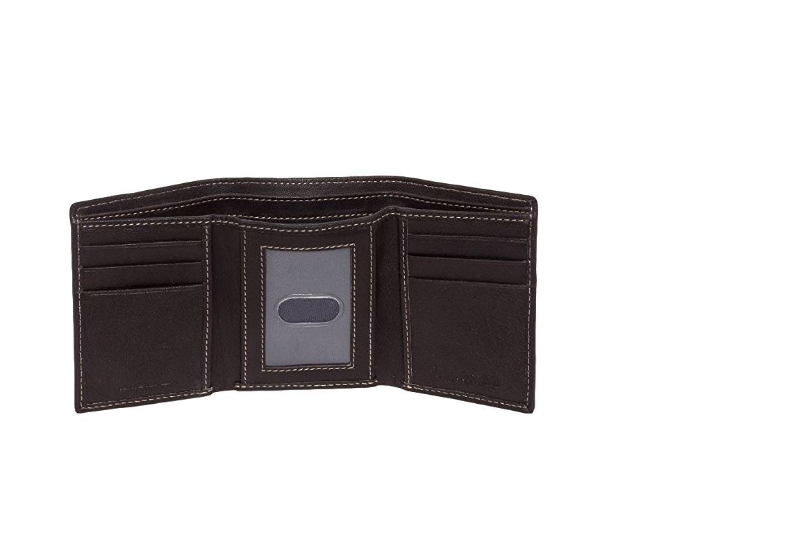 Timberland-Men-039-s-Cloudy-Trifold-Leather-Wallet thumbnail 11