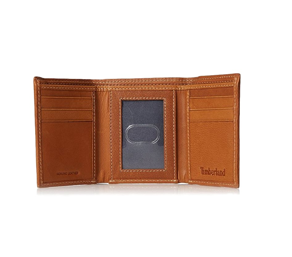 Timberland-Men-039-s-Cloudy-Trifold-Leather-Wallet thumbnail 14