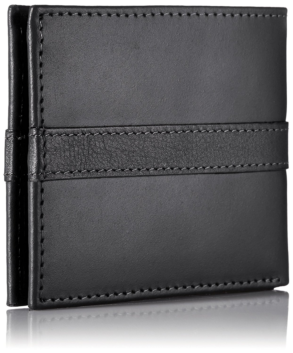 Tommy-Hilfiger-Men-039-s-Ranger-Leather-Passcase-Wallet-with-Removable-Card-Holder