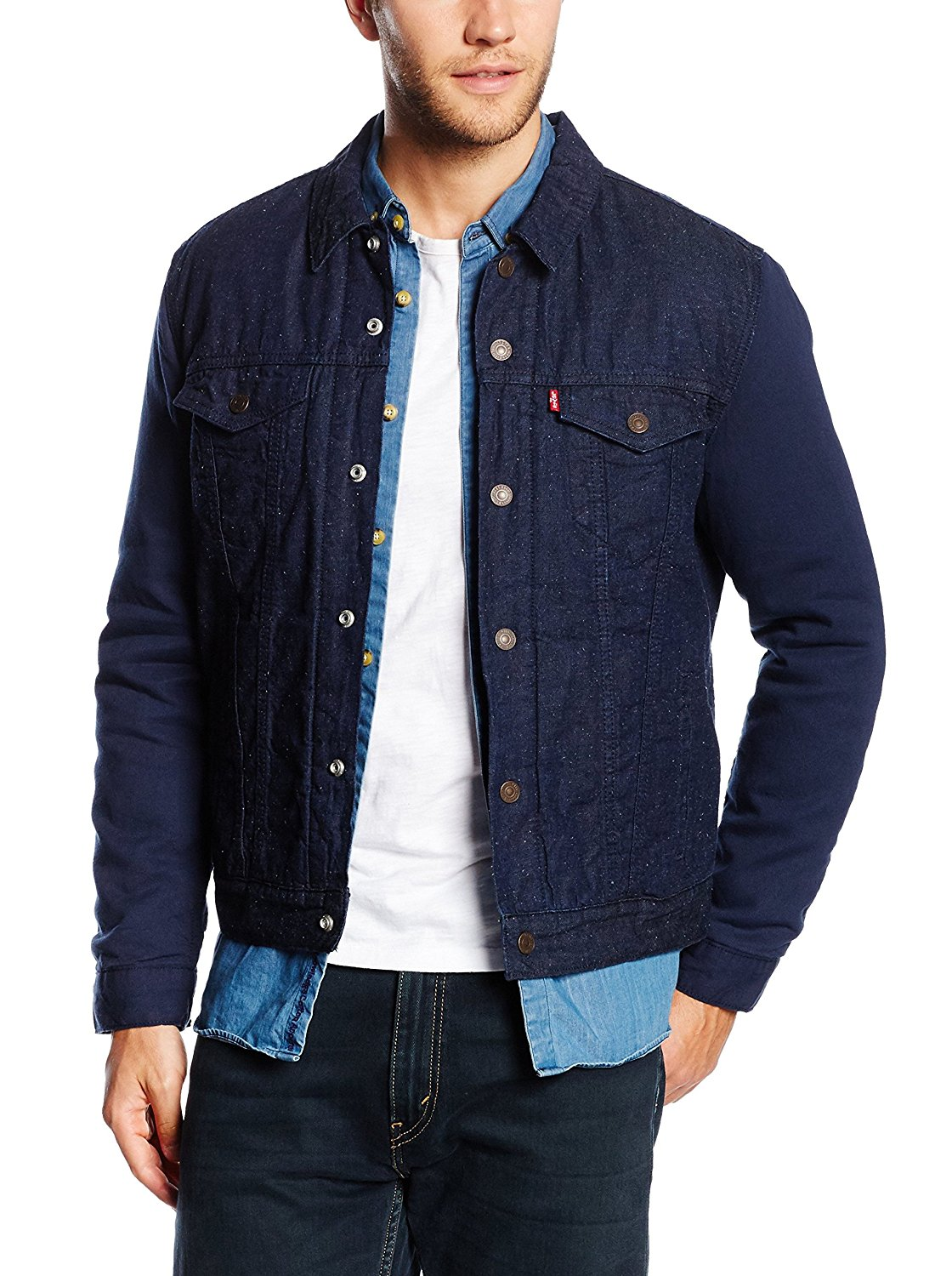 Levi's Men's Thermore Insulated Jacket Blue Denim 244630000