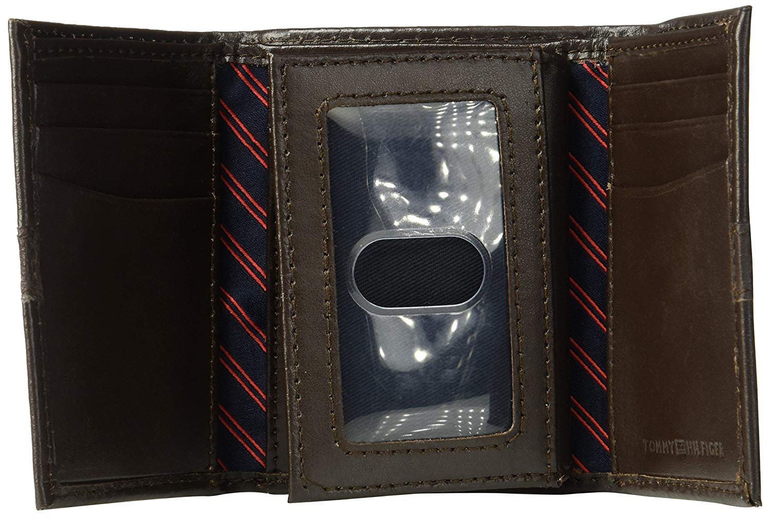 Tommy-Hilfiger-Men-039-s-RFID-Blocking-Leather-Ranger-Extra-Capacity-Trifold-Wallet thumbnail 14
