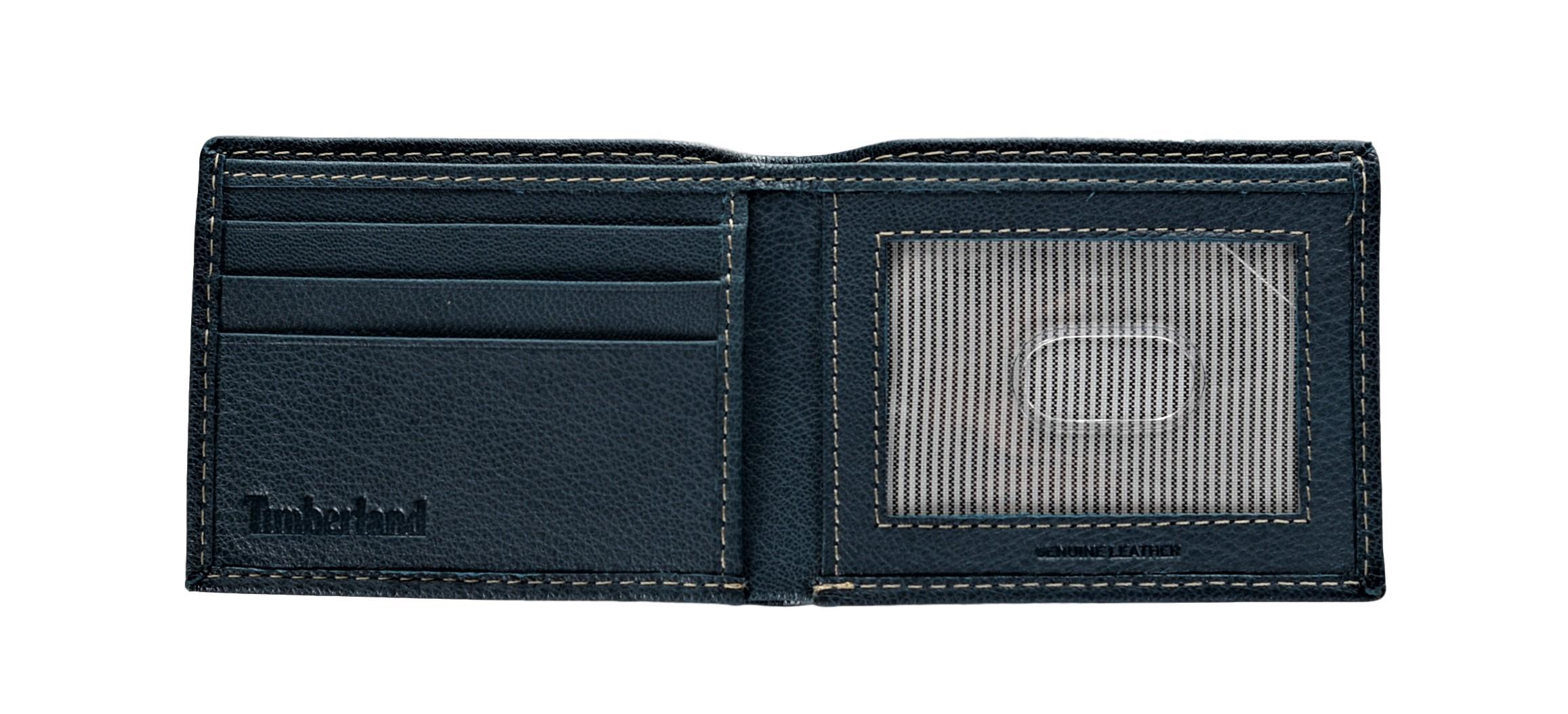 Timberland-Men-039-s-Blix-Slim-Bifold-Leather-Wallet thumbnail 16