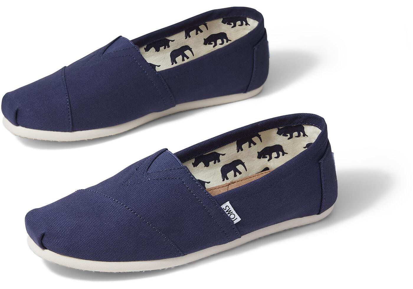 thumbnail 20 - TOMS Women's Classic Alpargata Slip On Shoes