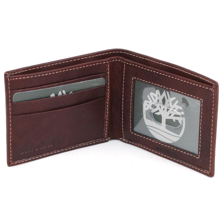 Timberland-Men-039-s-Blix-Slim-Bifold-Leather-Wallet thumbnail 12