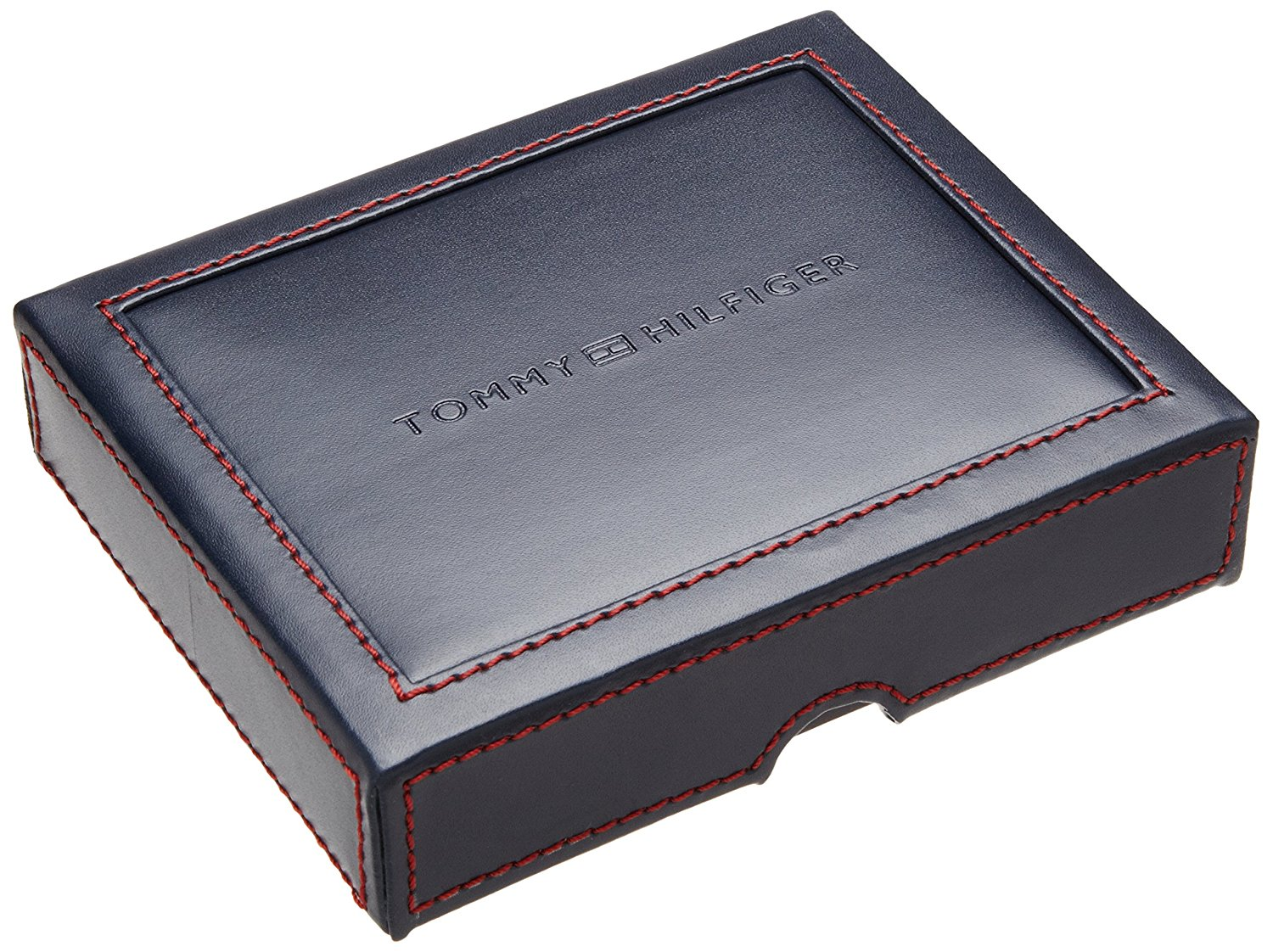 180db2ba4e0 Tommy Hilfiger Men's Ranger Leather Passcase Wallet with Removable ...