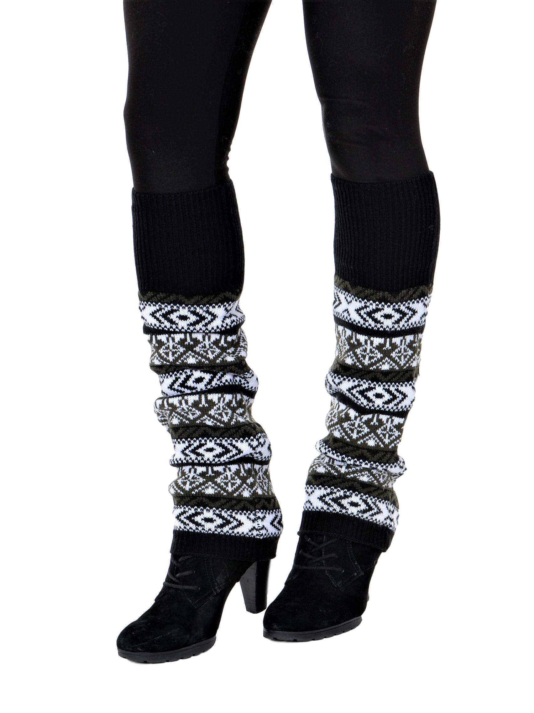 LOOK Leg Warmers S-XL Black